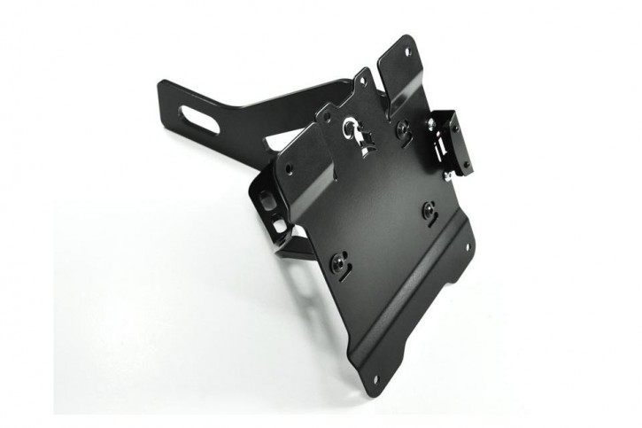 IBEX Bracket for license plate, side mount for HONDA VT 750 Shadow