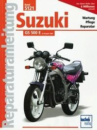 Motorbuch Bd. 5121 Reparatur-Anleitung SUZUKI GS 500 E (ab 1989)