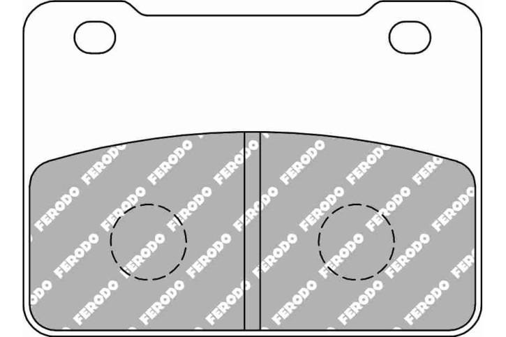 FERODO Disc brake pad FDB 2291 EF