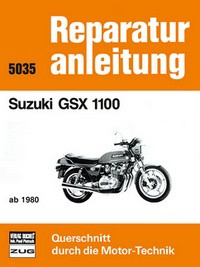 Motorbuch Engine book Repair instructions edition 5035 for SUZUKI GSX 1100