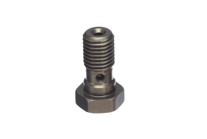 ABM Hollow screw Alu M10 x 1,0, titan