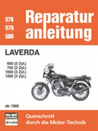 Motorbuch Engine book No. 578 repair instructions Laverda 68-82