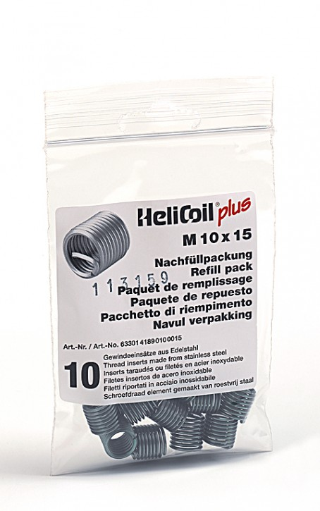 HELICOIL Refill pack plus thread inserts M 10