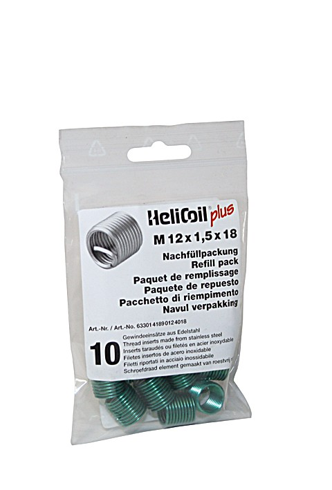 HELICOIL Refill pack plus thread inserts M 12