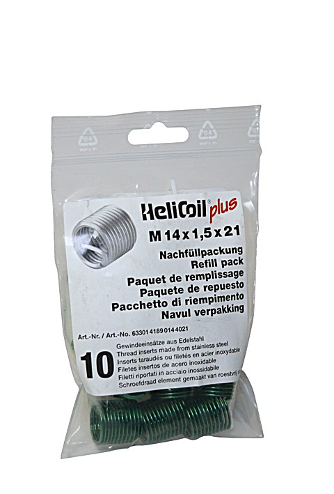 HELICOIL Refill pack plus thread inserts M 14