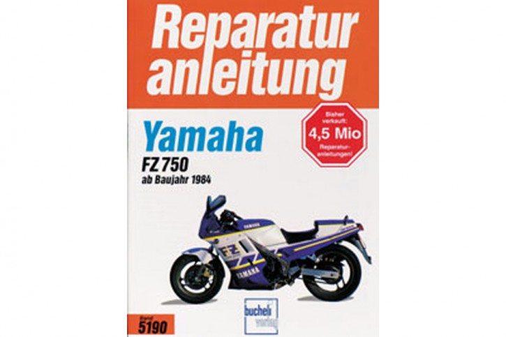 Motorbuch Bd. 5190 Reparatur-Anleitung YAMAHA FZ 750