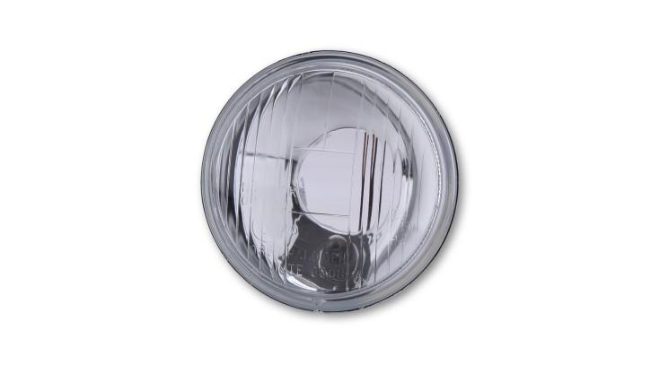 SHIN YO Fernscheinwerfereinsatz mit Standlicht, Metall, 90mm für H 4 Birne, gepr. Glas