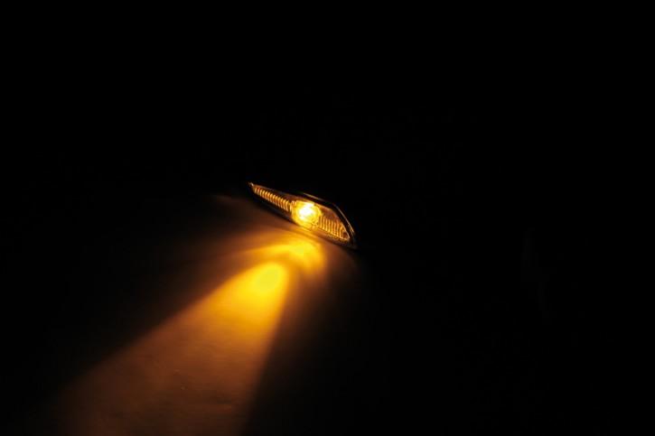 KOSO LED indicator STINGER, smoke