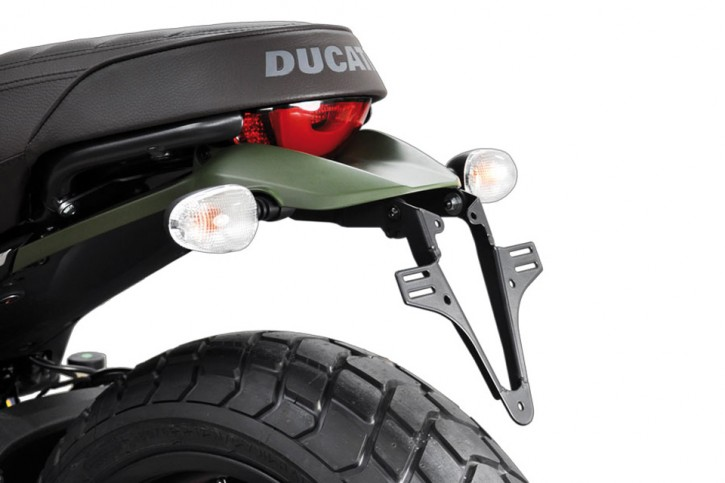 HIGHSIDER License plate bracket DUCATI Scrambler 800, 15-