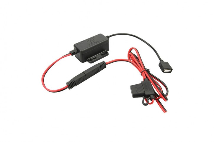RAM Mounts GDS modular hardwire charger with female usb type a connector