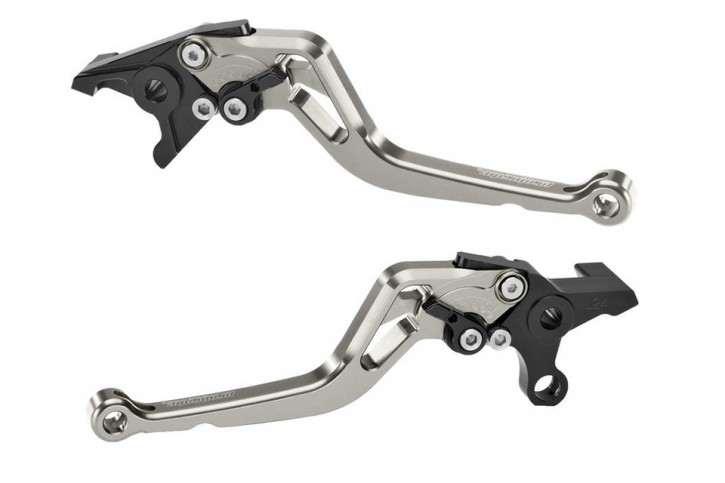probrake Clutch- & brake lever set MIDI, titan