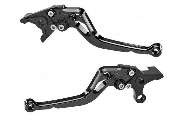 probrake Clutch- & brake lever set MIDI, black