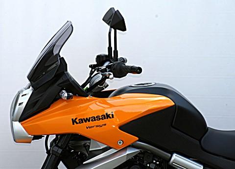 MRA Touring-Screen KAWASAKI TM Versys 650, 10-14, schwarz