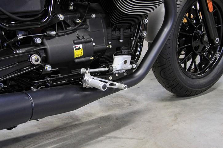 LSL Rastenanlage MOTO GUZZI V9 Bobber/Roamer 16-, silber