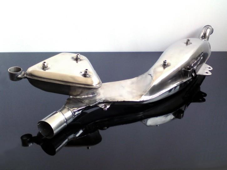AUSPUFF XT 500, Edelstahl