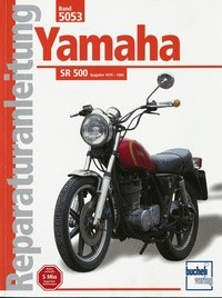 Motorbuch Bd. 5053 Reparatur-Anleitung YAMAHA SR 500 (1979-83)