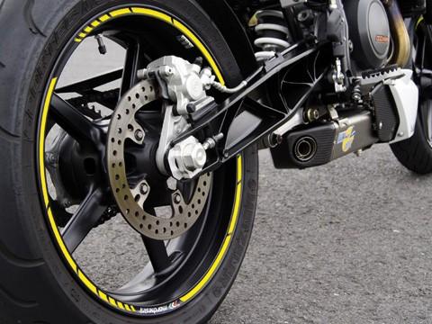 - Kein Hersteller - Rim sticker yellow, GP style