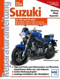 Motorbuch Engine book No. 5295 repair instructions SUZUKI SV 650/S, 99-08