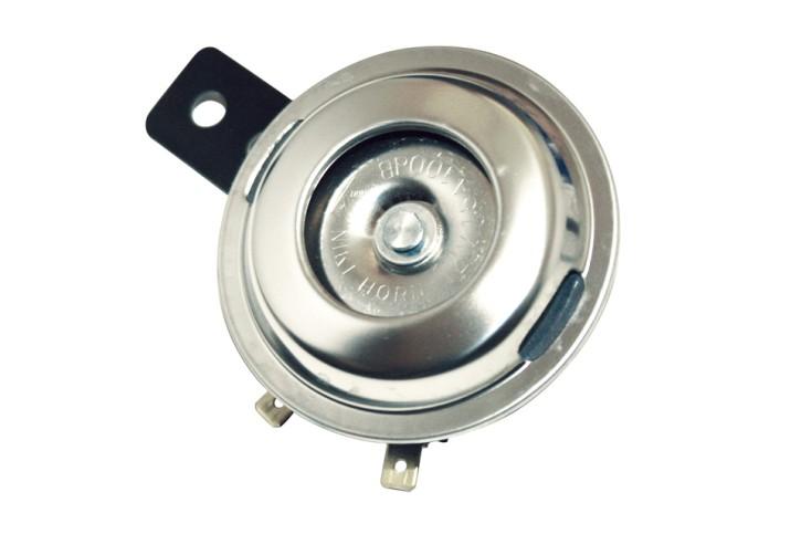- Kein Hersteller - Stainless steel horn, 12V, d. 72 mm, E-mark