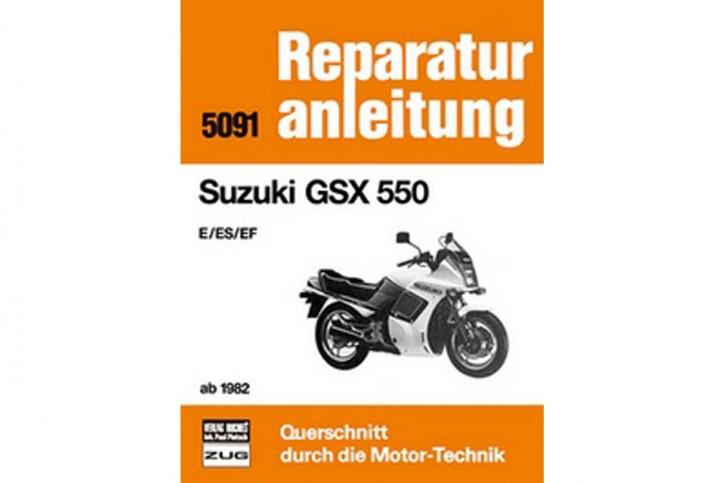 Motorbuch Engine book 5091 Repair Manual SUZUKI GSX 550 - from 1982