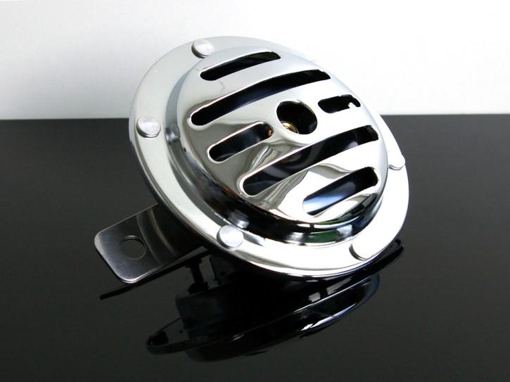 Oldstyle-HUPE (sonette/HORN/clacson) chrom 12V, NEU!