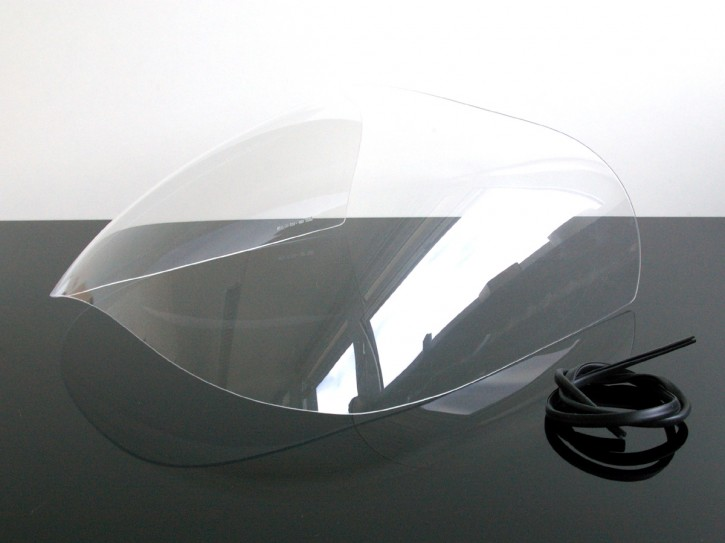Half fairing-screen, clear, for DUCATI 750 900 SS