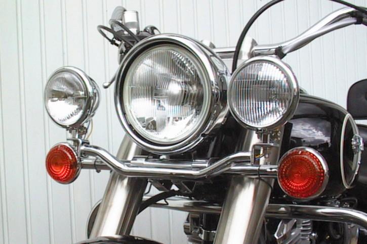 FEHLING Lampenhalter für Zusatzscheinwerfer YAMAHA XV 1600 Wild Star