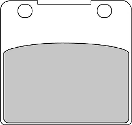 FERODO Disc brake pad FDB 389 P
