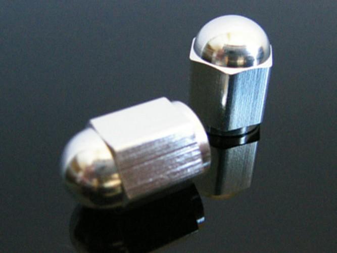 2 Aluminium-VENTILKAPPEN (valve caps)