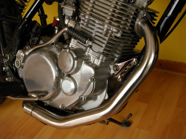 DOWNPIPE, stainless steel, for SR500