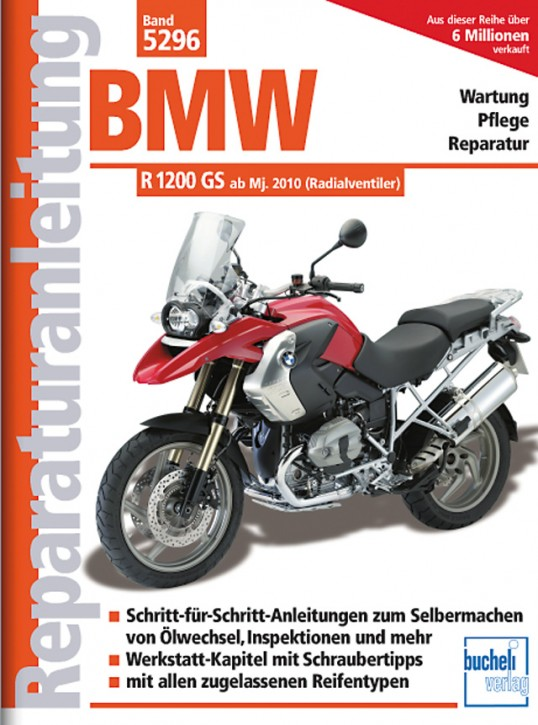 Motorbuch Engine book No. 5296 repair instructions BMW R 1200 GS, 10-