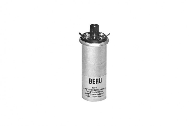 BERU Ignition coil ZS215 universal, 6V
