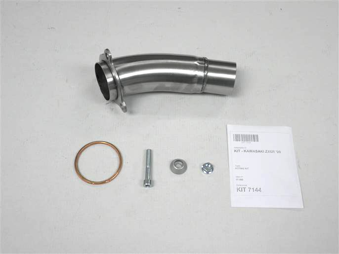 IXIL Adapter tube for ZX 6 R, year 09, not homologated!