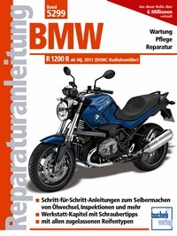 Motorbuch Engine book No. 5299 Repair instructions for BMW R 1200 R, 11-