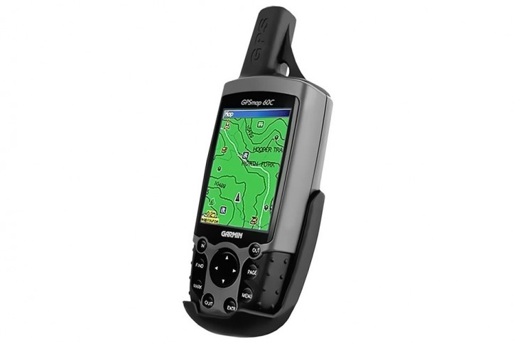 RAM Mounts Gerätehalteschale für Garmin GPS 60er Serie (ohne Schutzhüllen) - Diamond-Anbindung