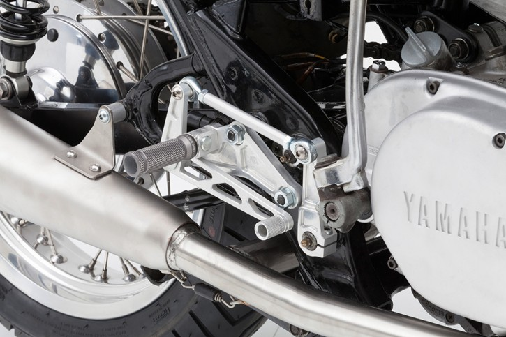 LSL Rear set footrests YAMAHA XS 650, Type 447/3L1
