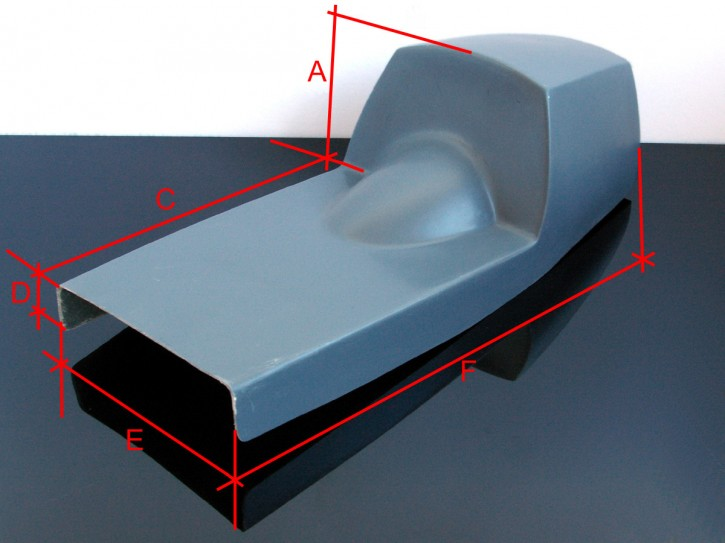 Racer Seat RICKMAN Style, fiberglass reinforced plastic