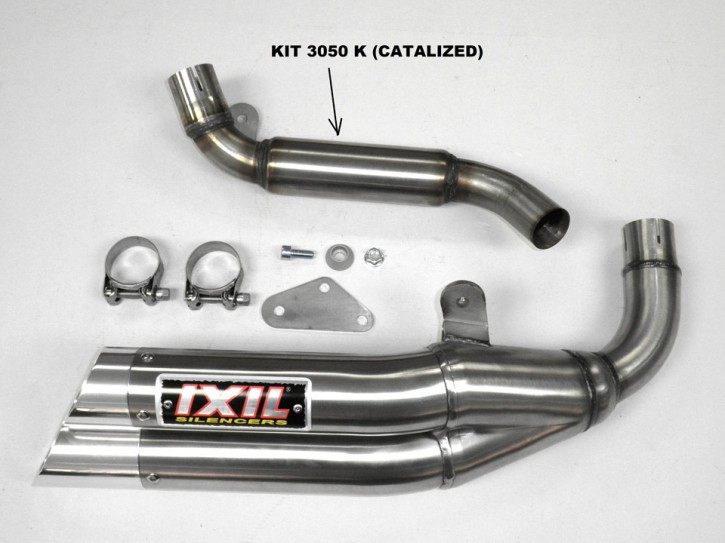 IXIL Adapter tube with Catalyst for KTM Duke 125
