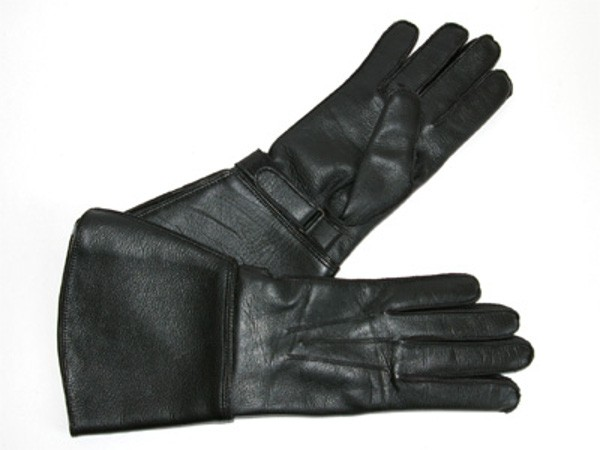 Motorcycle gloves, leather