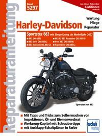 Motorbuch Bd. 5297 Reparatur-Anleitung H.D., Sportster 883, mit Einspritzung, 07- (XL883