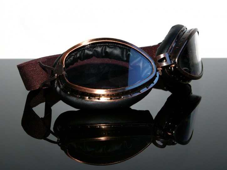 "Helmet-goggles/glasses (Lunettes) ""Steampunk"""