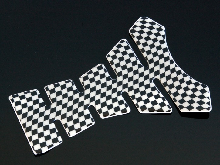 "Tank Pad ""CHEQUERED FLAG"""