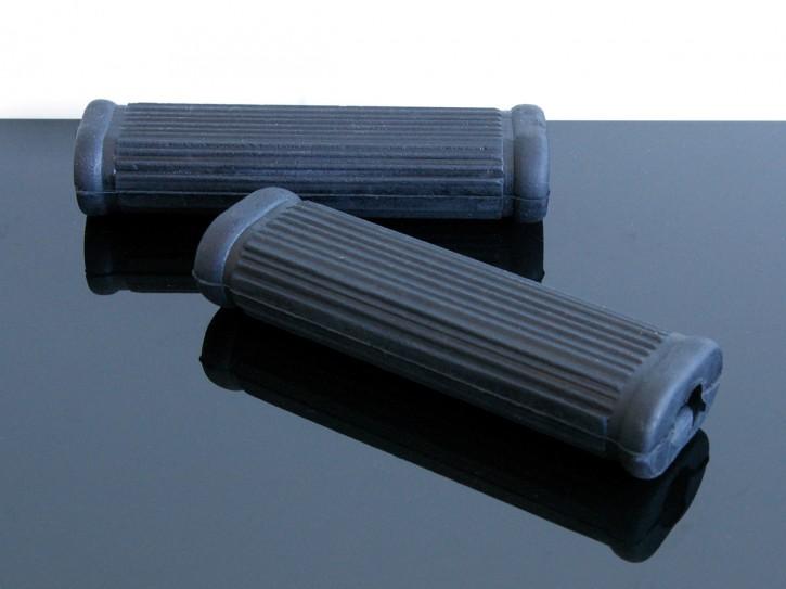 2 Fußrastengummis/footrest rubbers TRIUMPH, klein
