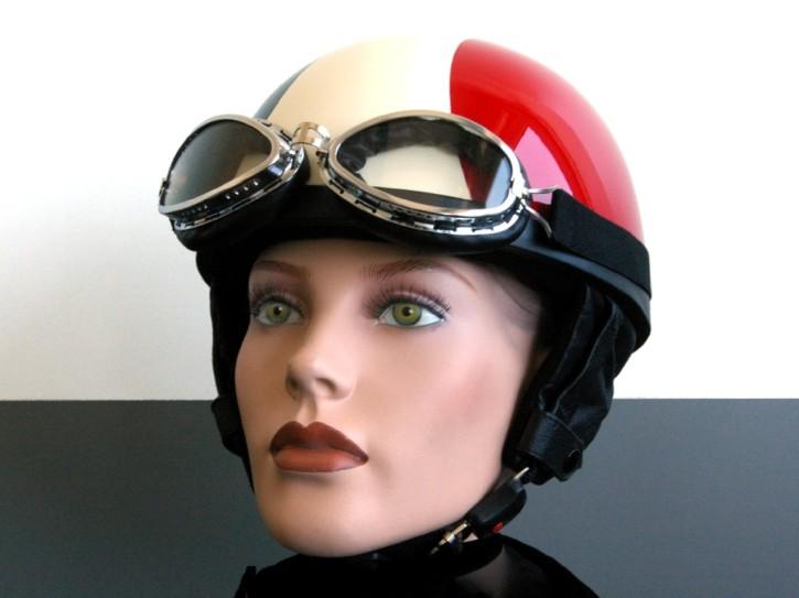 Italy-HELM/Jethelm/helmet DUCATI MotoGuzzi VESPA!