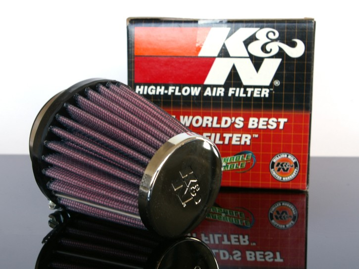 K&N performance airfilter, 48-51 mm