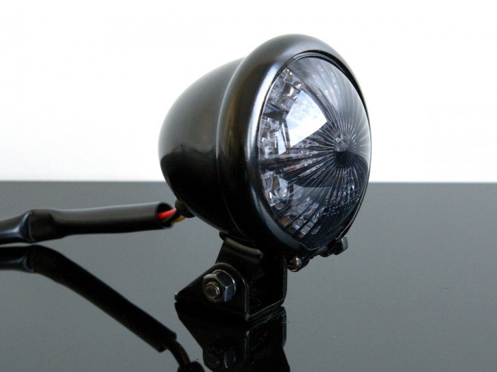 LED-RÜCKLICHT Tail/rear light BATES,schwarz SR 500/CHOPPER !