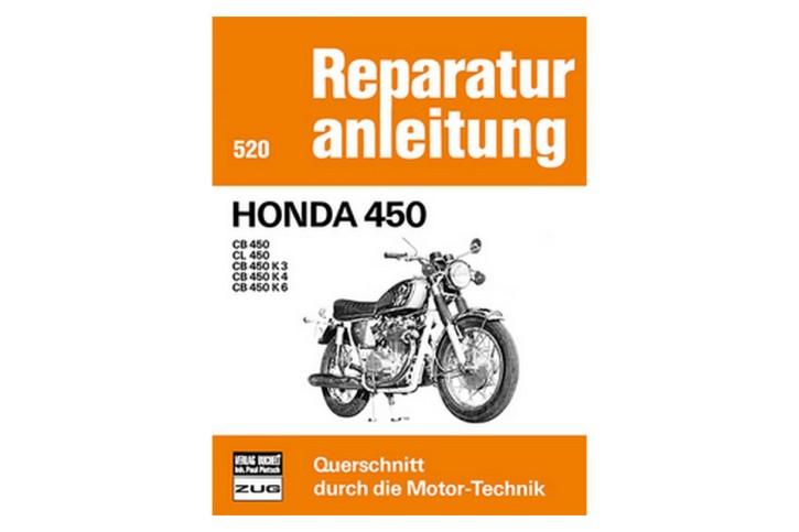 Motorbuch Bd. 520 Rep.-Anleitung, HONDA CB 450