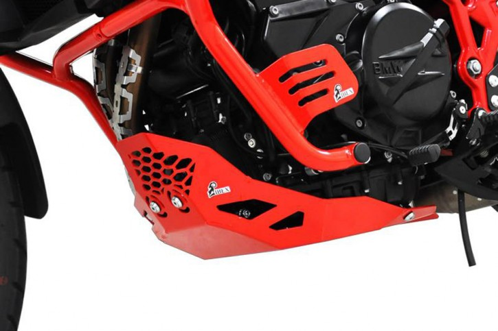 IBEX Engine guard BMW F 650/F 700/F 800 GS 08-16 red, reinforced