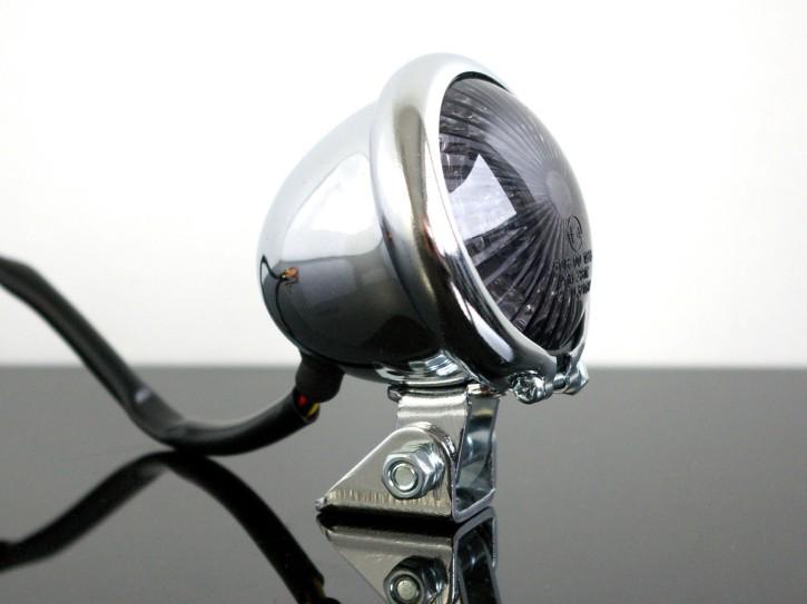 LED-RÜCKLICHT BATES Style, chrom SR 500