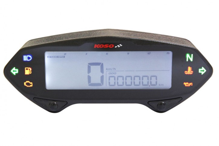 STOCK SALE: KOSO DB-01RN Speedometer with Tachometer